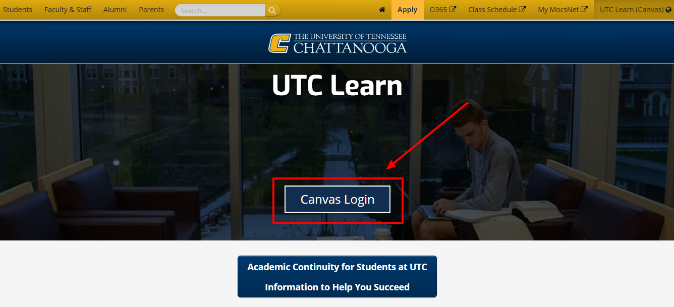 Login to Your UTC Learn Account