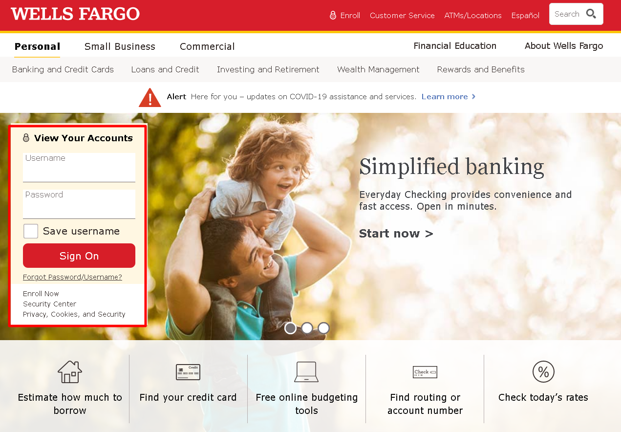 How to Pay Wells Fargo Bill